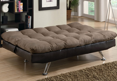 factory futon. Black Bedroom Furniture Sets. Home Design Ideas